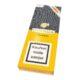 Doutníky Cohiba Esplendidos C/P, 3ks-Kubánské doutníky Cohiba Esplendidos C/P. Tyto doutníky jsou jedničkou značky Cohiba - vynikají svým kvalitním provedením, tvarem a silným kouřem. Cohiba Esplendidos nabízí pestrou škálu příjemných chutí a vůní, které každý znalec doutníků ocení. Díky těmto jeho devizám je právem označován jako nejlepším a nejchutnějším doutníkem ve výběru, které kubánské doutníky mohou nabídnout. Doutník hoří cca 90 min. Doutníky jsou balené po 3 ks v kartonové krabičce Cohiba a prodávají se pouze po celém balení.  Délka: 178 mm Průměr: 18,7 mm Velikost prstýnku: 47 Tvar/velikost doutníku: Churchill Typ doutníku dle skladování: doutník vlhký  Původ doutníku: Kuba Krycí list: Kuba Natural Vázací list: Kuba Natural - Vuelta Abajo Náplň: Kuba Natural - Vuelta Abajo Síla tabáku: medium-full  Hodnocení doutníku Cohiba Esplendidos: 11. místo s 93 body ze 100 v odborném magazínu Cigar Aficionado v hodnocení výběru doutníků  v roce 2014
