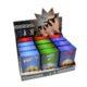 Pouzdro Clic Boxx Smileys na cigarety-Pouzdro na cigarety. Pouzdro na cigarety Clic Boxx  - pouzdro na krabičku cigaret (20ks) velikosti King Size. Po stisknutí dojde k otevření pouzdra díky pružince. Rozměry: 9,5x5,8x2,4cm. Pouzdro na cigarety je plastové.