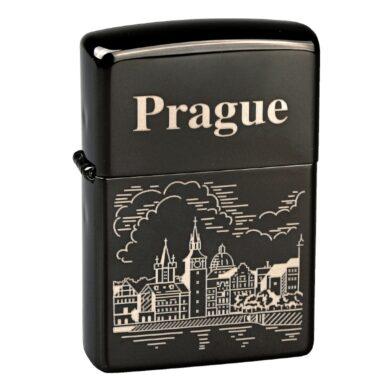 Zapalovač Zippo Prague, leštěný(Z 265602)