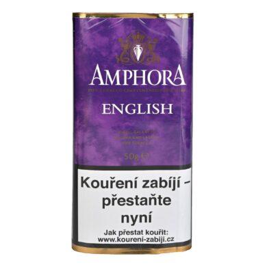 Dýmkový tabák Amphora English, 50g(00023)