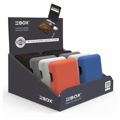 Pouzdro na tabák ToBOX Rubber touch, 10mix(509017)
