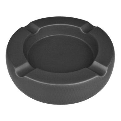 Doutníkový popelník keramický Passatore 4D, černý(523061)