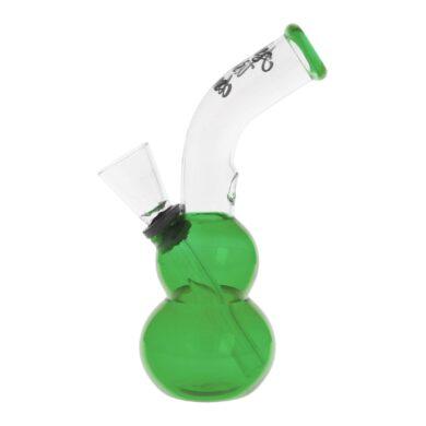 Skleněný bong Amsterdam zelený 13cm(02905MIXG)
