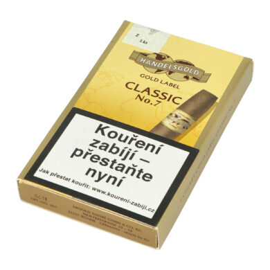 Doutníky Handelsgold Gold Label No.7, 5ks  (100246710T)