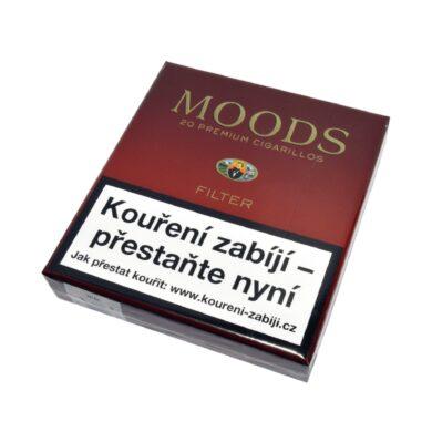 Doutníky Dannemann Moods Filter, 20ks/V(418108)