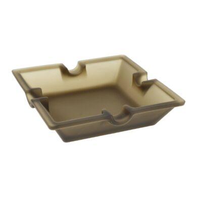 Doutníkový popelník skleněný matný(11258)