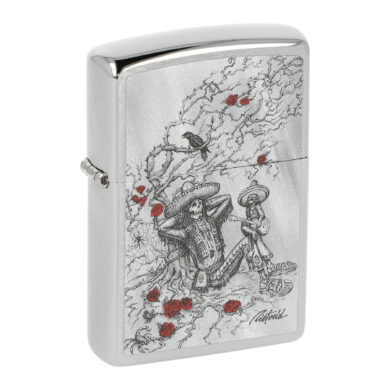 Zapalovač Zippo Skeleton Rose, lesklý(Z 151768)