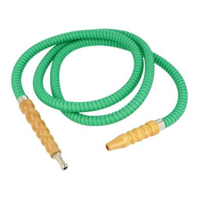 Náhradní hadice (šlauch) pro vodní dýmku, zelená, 1,75m(06724)