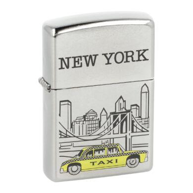 Zapalovač Zippo New York, patina(Z 140027S)