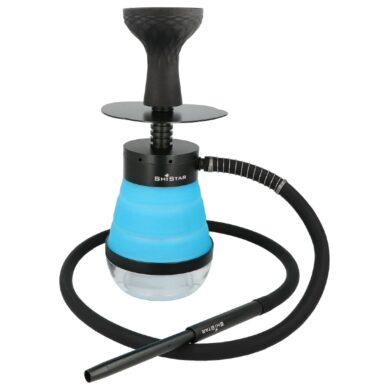 Vodní dýmka Shistar Outdoor blue 32cm(446921)