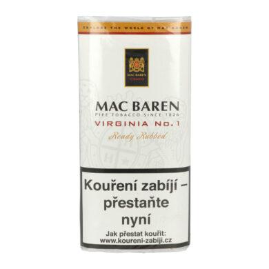 Dýmkový tabák Mac Baren Virginia No.1, 50g/F(01640.1)