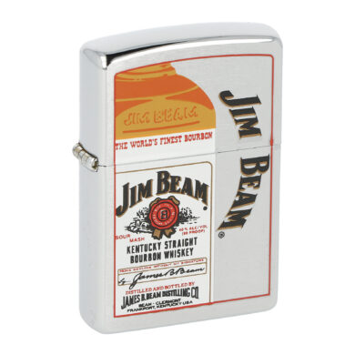 Zapalovač Zippo Jim Beam Bottle, broušený(Z 147)