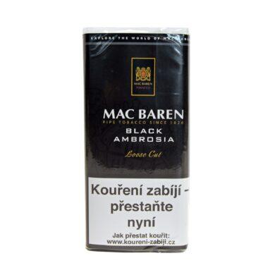 Dýmkový tabák Mac Baren Black Ambrosia, 50g(01630)