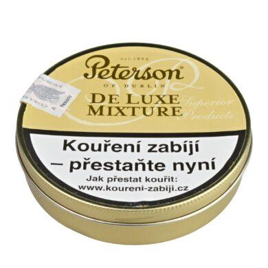 Dýmkový tabák Peterson De Luxe Mixture, 50g(02940)