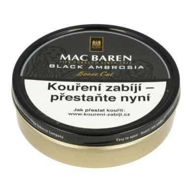 Dýmkový tabák Mac Baren Black Ambrosia, 100g(01629)