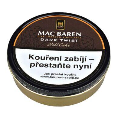 Dýmkový tabák Mac Baren Dark Twist, 100g(017101)