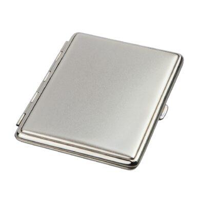 Cigaretové pouzdro na slim cigarety Slim, 18 cig., stříbrné, polomatné(80211)