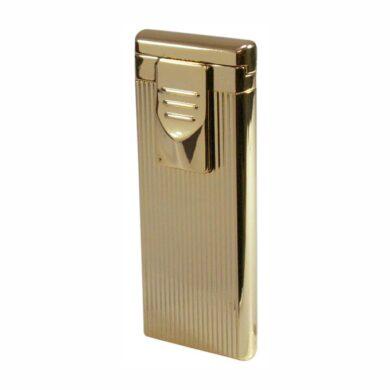 Zapalovač Hadson Turbo  - žhavící, zlatý(10303X)