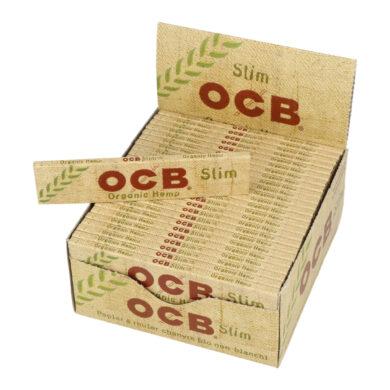 Cigaretové papírky OCB Slim Organic(03600)