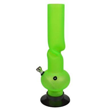 Bong akryl (plast) 31cm, kroucený(344230)