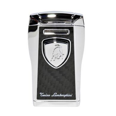 Tryskový zapalovač Lamborghini Argo, černostříbrný(910520)