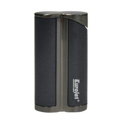 Tryskový zapalovač Eurojet Yorki, černý(251650)