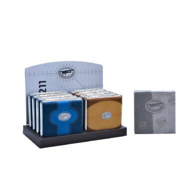 Cigaretové pouzdro SoSL Blue&Brown, 20cig.(590307)