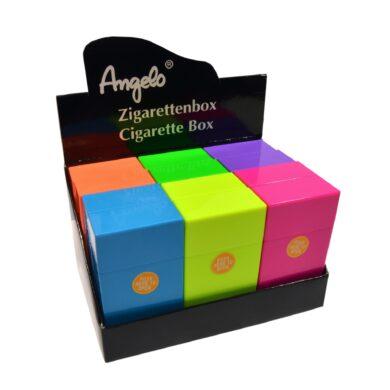 Pouzdro na cigarety Clic Boxx 100 na stovkové cigarety, Angelo(803008)