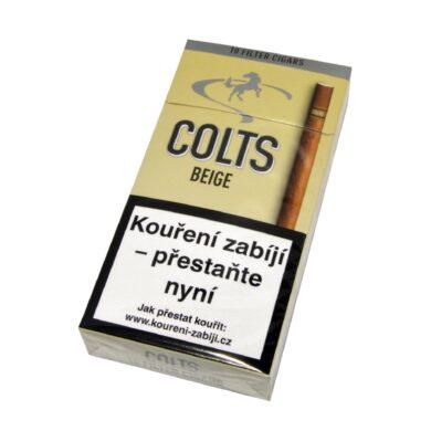 Doutníky Colts Filter Beige, 10ks(102360110T)