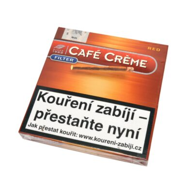 Doutníky Cafe Creme Filter Red, 10ks  (102342011T)