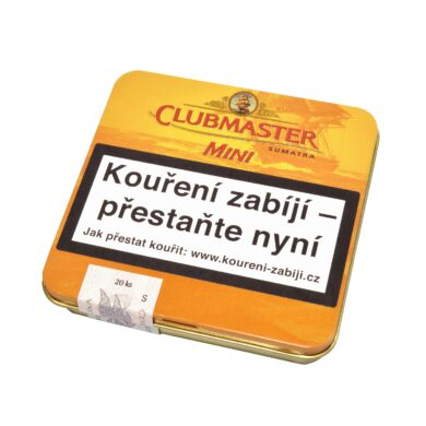 Doutníky Clubmaster Mini Sumatra Cigarillo, 20ks(100300211V)