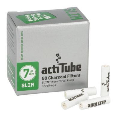 Cigaretové filtry Acti Tube Slim 6,9mm(640970)