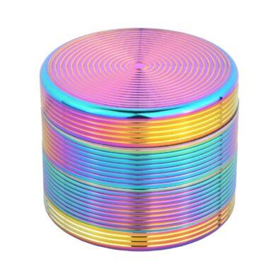 Drtič tabáku kovový Rainbow, 54mm(340144)