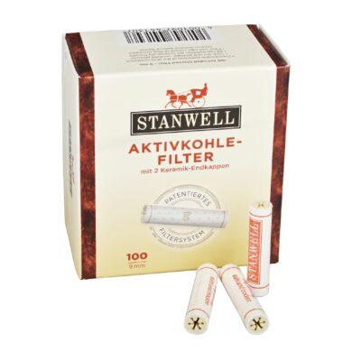 Filtry do dýmky, Stanwell, 100ks, 9mm(680080)
