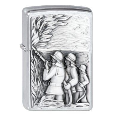 Zapalovač Zippo Fireman, broušený(Z 159410)
