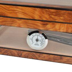 Humidor na doutníky Angelo prosklený 40D, 32x28x13cm(920004)