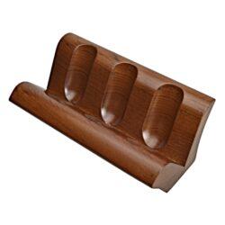 Stojánek na 3 dýmky rovný, ořech(550413)