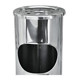Venkovní popelník - odpadkový koš kulatý, nerez, 54,5cm(22603)