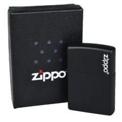 Zapalovač Zippo Black Matte, matný(Z 168170)