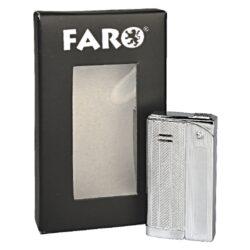 Zapalovač Faro Slim Silver(24115)