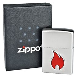 Zapalovač Zippo Mini Flame, broušený(Z 151156)