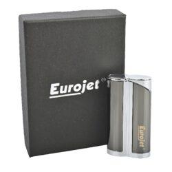 Tryskový zapalovač Eurojet Yorki, šedý(251651)