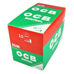 Cigaretové filtry OCB Slim Menthol(013100)