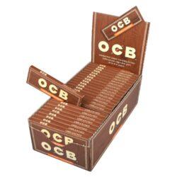 Cigaretové papírky OCB Virgin Single-Cigaretové papírky OCB Virgin Single. Papírky jsou vyrobené z ultratenkého neběleného papíru. Knížečka obsahuje 50 papírků. Rozměry papírku: 36x69mm. Prodej pouze po celém balení (displej) 50ks. Cena je uvedená za 1ks.