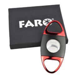 Doutníkový ořezávač Faro černo-červený(02035)