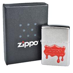 Zapalovač Zippo Wax Seal Zippo, broušený(Z 151508)