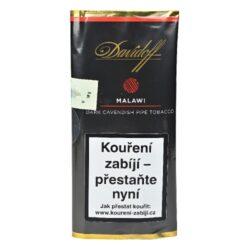 Dýmkový tabák Davidoff Malawi, 50g-Dýmkový tabák Davidoff Malawi. Silnější tabáková směs s vanilkovým aroma je vytvořena unikátní kombinací vyzrálých Burley tabáků, na vzduchu sušených Virginia tabáků z Malawi s jemnou špetkou dánského tmavého Cavendishe. Celá směs je ručně smíchána s originální sluncem sušenou mexickou vanilkou, která je proslavena svojí jemnou a sladkou chutí. Balení pouch 50g.
