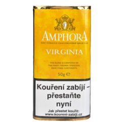 Dýmkový tabák Amphora Virginia, 50g-Kvalitní dýmkový tabák Amphora Virginia. Jemná dýmková směs s přirozenou sladkostí je namíchaná z vybraných Virginských tabáků ze tří kontinentů. Balení pouch 50g.