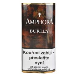 Dýmkový tabák Amphora Burley, 50g-Dýmkový tabák Amphora Burley. Skvěle namíchaná a vyvážená dýmková směs Burley tabáku s malou dávkou Virginie. Balení pouch 50g.