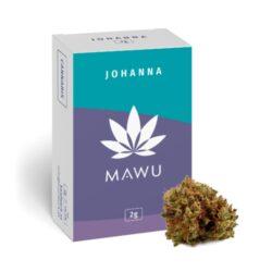 Mawu CBD Johanna 2g - náplň do vonné lampy-Konopná náplň do vonné lampy Mawu CBD Johanna. Balení obsahuje celá sušená květenství rostliny konopí seté (Cannabis sativa L.) bez dalších přidaných složek. Možné zahřívat v olejové lázni nebo i samostatně. Konopí je pěstováno renomovanou rakouskou firmou MAWU, která garantuje nejvyšší kvalitativní standardy. Obsah THC je menší než 0,2%. Produkt není určen ke kouření.  Video z produkce##https://www.youtube.com/watch?v=hLDIdPowlks#000016#